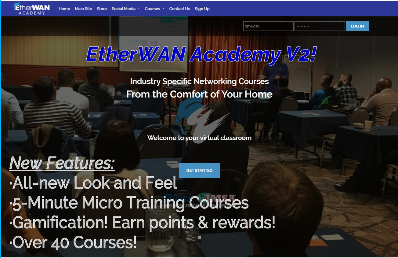 New Academy Home Page